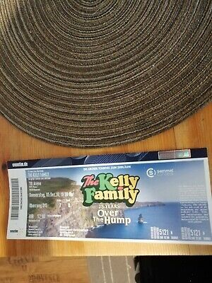 1x The kelly family over the hump Ticket, 5.12.2019 Hannover