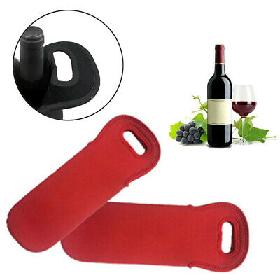 1 Pc Insulated Neoprene Drink/Wine /Champagne/Beer Bottle Cooler Tote Bag Holder