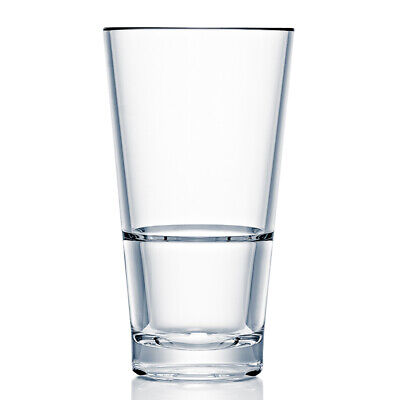 Strahl CapellaStack Polycarbonate Highball Tumblers 10oz / 296ml - Case of 12