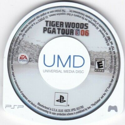Tiger Woods PGA Tour 06 (Sony PSP, 2005) **DISC ONLY**