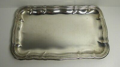 Antique 835 Silver Lutz & Weiss German Card Tray