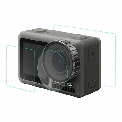 Full Coverage Toughened Glass Screen Protector for DJI Osmo Action Camera