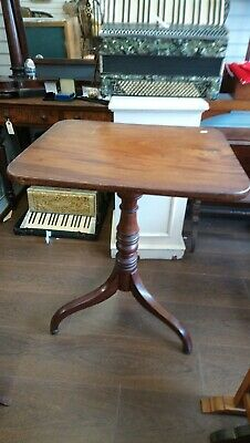Antique Georgian Tilt Top Table, occasional table