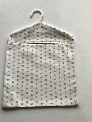 Retro Peg Bag Made With Twinkle Star Taupe Fabric From Dunelm