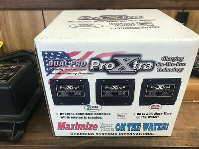 Dual Pro ProXtra On The Run Charger NIB, Fishing Boat Charger NEW