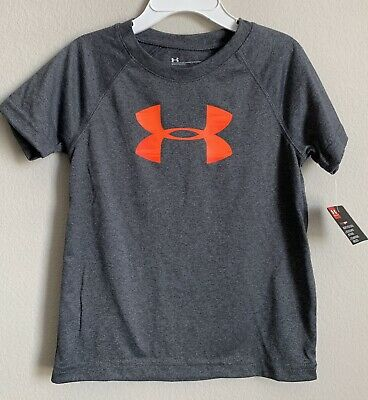 Under Armour Toddler Boys Shirt Size 3T Gray New NWT