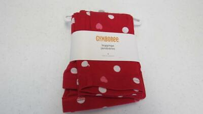Gymboree Valentine's Day 2013 Leggings Red w/Hearts & Polka Dots Size 6 NWT TL96
