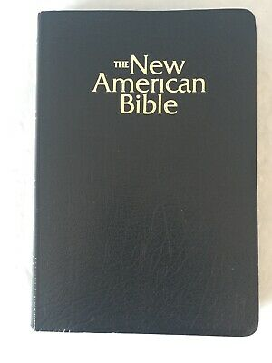 NEW AMERICAN STUDY Bible For Catholics Genuine Leather