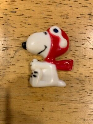 Snoopy As Fighter Pilot Magnet