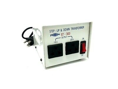 Philmore ST-300 Step-Up & Down Transformer 110/200/220/240V