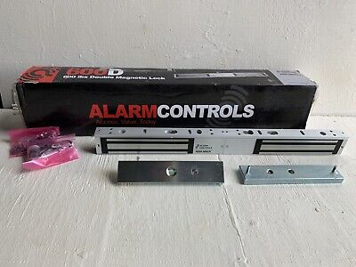 NEW Alarm Controls 600D 600 Lb Double Magnetic Lock - Free Shipping