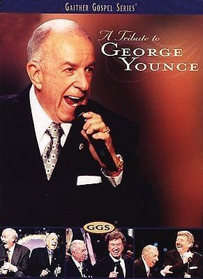A Tribute to George Younce (DVD, 2005, Gaither Gospel Series) INSERT INCLUDED LN