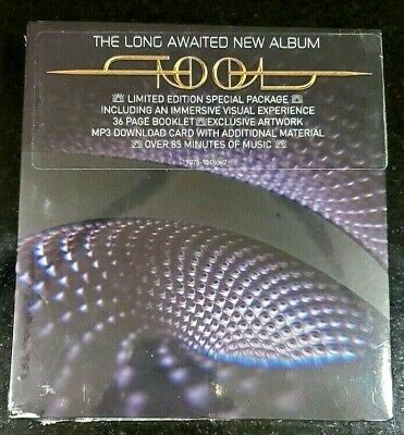 Tool - Fear Inoculum CD RCA Screen Deluxe Edition Video Pack IN HAND FREE SHIP