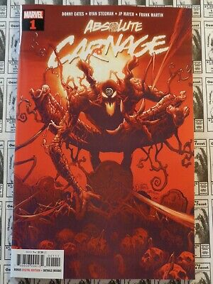Absolute Carnage (2019) Marvel - #1, 60 Pgs, Donny Cates/Ryan Stegman, NM