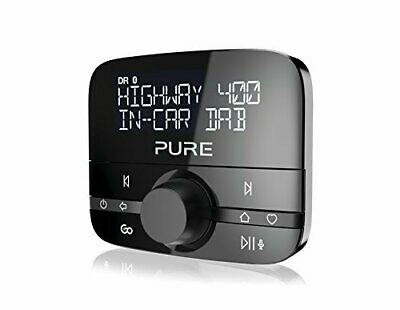 Pure Highway 400 In-Car Dab/Audio Adapter With Bluetooth Music