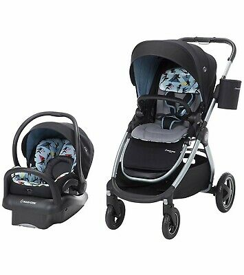 Maxi Cosi Adorra Baby Stroller Combo with Car Seat Travel System Disney New
