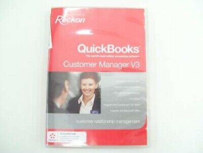 Reckon Quickbooks Customer Manager V3 Database Software Business Accounting