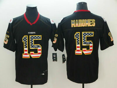 NEW Patrick Mahomes #15# Kansas City Chiefs Men's Stittched Jersey M-3XL