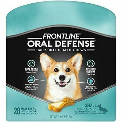 Frontline Oral Defense Daily Oral Health Chews For Small Dogs