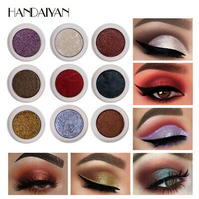 Fashion Women Sequins Glitter Loose Shimmer Pigment Eye Shadow Mud Cream