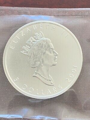 2001 Silver Maple Leaf Coin