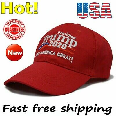 Trump 2020 HAT Keep Make America Great Cap President Election Embroidered Hats &