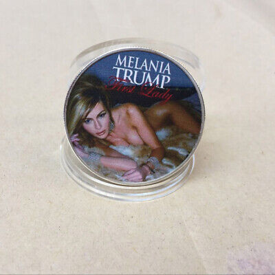 2019 American First Lady Melania Trump Silver Commemorative Coin  Collectibles