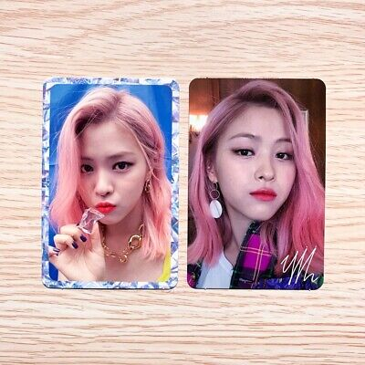 Itzy - It'z Icy (1St Mini Album) Official Ryujin Photocard (Select Ver.)