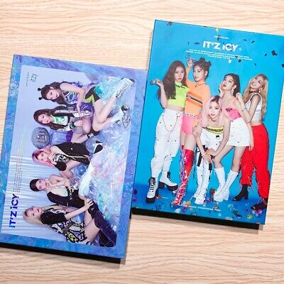 Itzy - It'z Icy (1St Mini Album) Select Ver. + Member 1St Page (No Photocard)