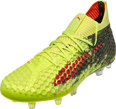 New Men/'s Puma Future 18.1 Netfit On//Off FG//AG Soccer Cleats Size 13-104313-01