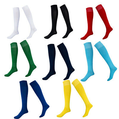 UK Men's Sport Outdoor football Long Socks Over Knee High Sock Baseball Hockey
