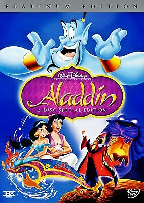 Aladdin (DVD, 2004, 2-Disc Set, Special Edition)  BRAND NEW  Factory Sealed