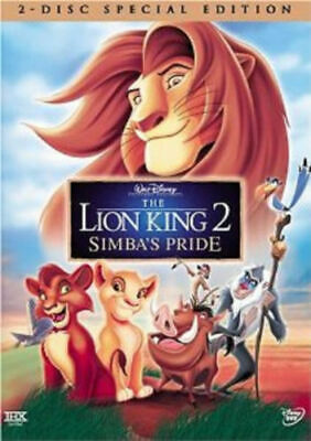 Lion King 2: Simbas Pride (DVD, 2004 Special Edition) BRAND NEW   Factory Sealed