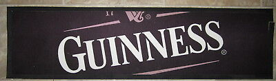 Bar Spill Mat for Guinness Cloth with Rubber Backing
