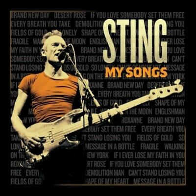 Sting - My Songs (Deluxe) Album CD Sealed