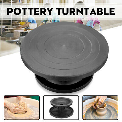 25/30CM Metal Pottery Banding Wheel Potters Turntable Turnplate Clay