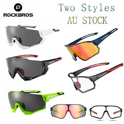 Cycling Bike Glasses Polarized Eyewear Goggle Bicycle Photochromic Sunglasses AU