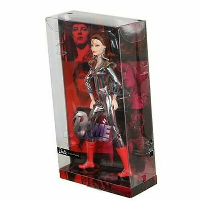 Barbie DAVID BOWIE Doll Limited Edition ZIGGY STARDUST Gold Label NEW! In Hand