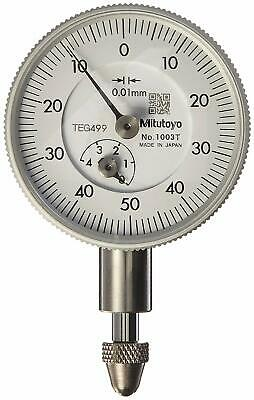 Mitutoyo 1003T Dial Indicator, 0.1 mm Accuracy, 5 mm Range Input/(1 mm per