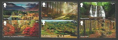 Gb 2019 Forests Trees Waterfalls Geology Set Mnh