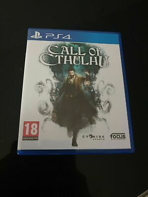 call of cthulhu Sony ps4