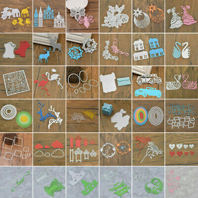 DIY Silver Cutting Dies Stencils Scrapbooking Embossing Album Paper Card Gift
