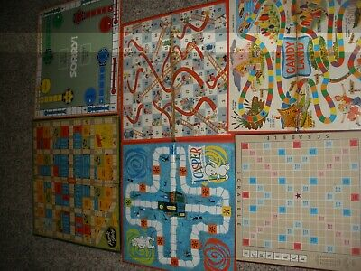 VINTAGE 1940 1950's and 1960's  GAME  BOARDS