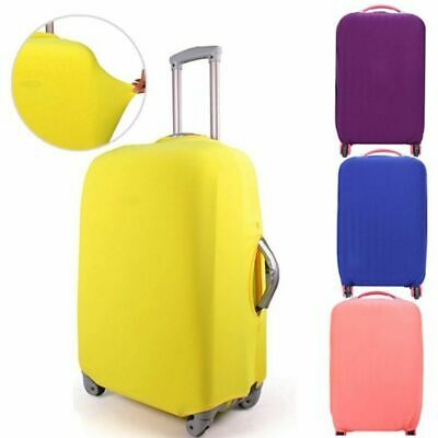 Protective Anti-scratch Candy Color Suitcase Cover Dust-proof Baggage Protector