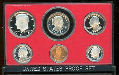 1979 S United States Mint Annual Type II  Proof Set Original Box