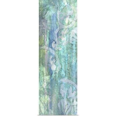 Poster Print Wall Art entitled Pastel ad Lace I