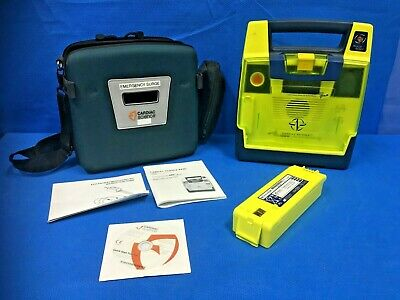 Cardiac Science PowerHeart AED G3 Pro~Case, Instructions, & Battery included~
