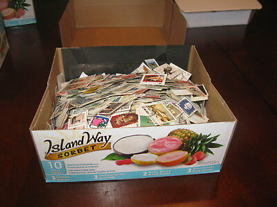 CANADA ONE POUND BOX LOT OFF PAPER. PREMIUM SELECTION - 450 grams LOT6