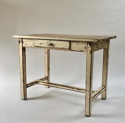 Charming Antique old vintage French Country Farmhouse Kitchen Dining work Table