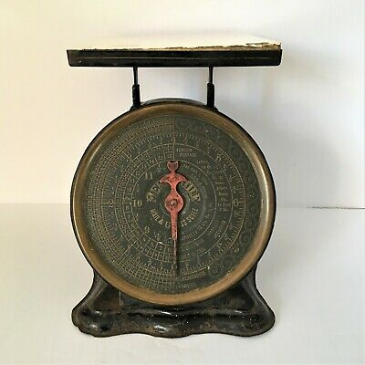 Antique Mercantile Mail and Express Scale 1906